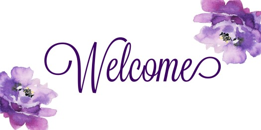 Welcome purple